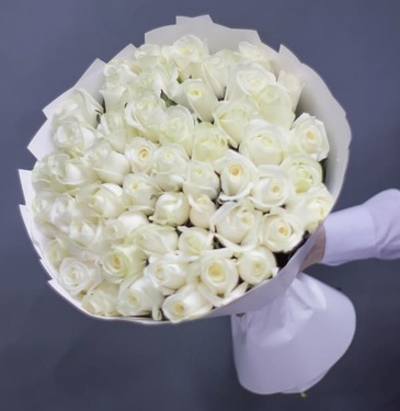 Bouquet 51 white roses №38