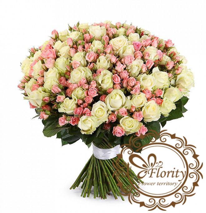 Доставка цветов в Харькове от Flority: заказать букет к 14 февраля или к 8 марта!