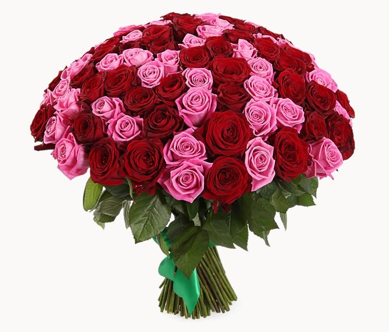 Цветы, где можно купить букет 101 розы киев